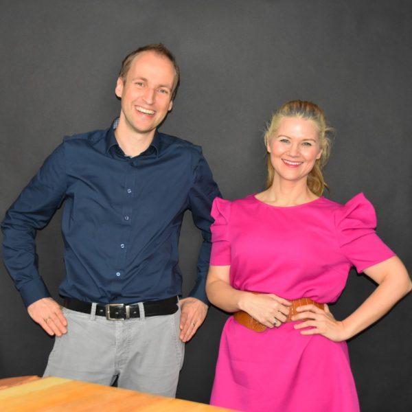 Alexa Hurka und Andreas hoffmann