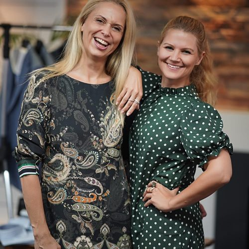Diana Rossmann und Alexa Hurka